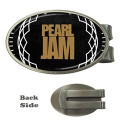 Pearl Jam Logo Money Clips (oval)