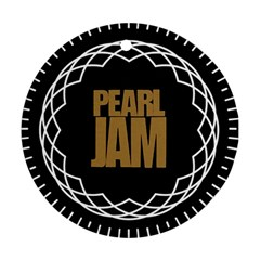 Pearl Jam Logo Round Ornament (two Sides)