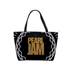 Pearl Jam Logo Shoulder Handbags