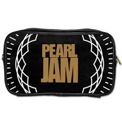 Pearl Jam Logo Toiletries Bags