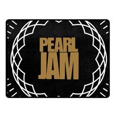Pearl Jam Logo Fleece Blanket (small)