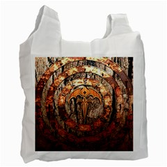Queensryche Heavy Metal Hard Rock Bands Logo On Wood Recycle Bag (one Side) by Samandel