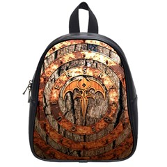 Queensryche Heavy Metal Hard Rock Bands Logo On Wood School Bag (small)