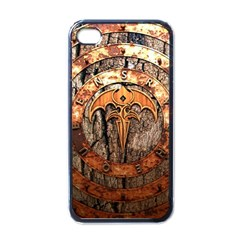 Queensryche Heavy Metal Hard Rock Bands Logo On Wood Apple Iphone 4 Case (black) by Samandel