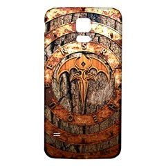 Queensryche Heavy Metal Hard Rock Bands Logo On Wood Samsung Galaxy S5 Back Case (white) by Samandel