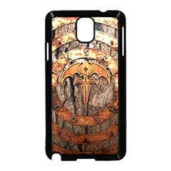 Queensryche Heavy Metal Hard Rock Bands Logo On Wood Samsung Galaxy Note 3 Neo Hardshell Case (black)