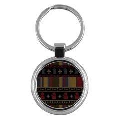 Tardis Doctor Who Ugly Holiday Key Chains (Round)
