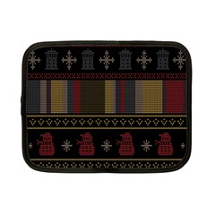 Tardis Doctor Who Ugly Holiday Netbook Case (Small)