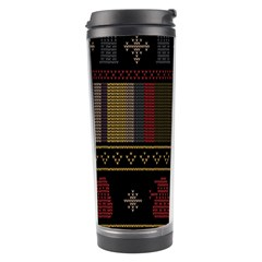 Tardis Doctor Who Ugly Holiday Travel Tumbler by Samandel