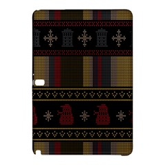 Tardis Doctor Who Ugly Holiday Samsung Galaxy Tab Pro 12.2 Hardshell Case