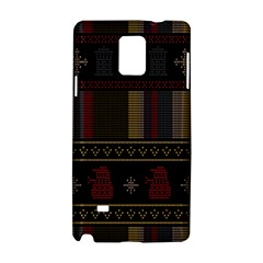 Tardis Doctor Who Ugly Holiday Samsung Galaxy Note 4 Hardshell Case