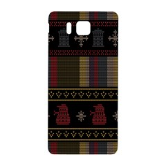 Tardis Doctor Who Ugly Holiday Samsung Galaxy Alpha Hardshell Back Case