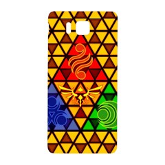 The Triforce Stained Glass Samsung Galaxy Alpha Hardshell Back Case