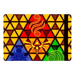 The Triforce Stained Glass Apple Ipad Pro 10 5   Flip Case