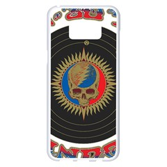 The Grateful Dead Samsung Galaxy S8 Plus White Seamless Case by Samandel