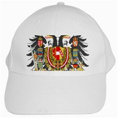 Imperial Coat Of Arms Of Austria Hungary  White Cap