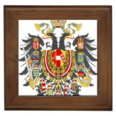 Imperial Coat Of Arms Of Austria Hungary  Framed Tiles