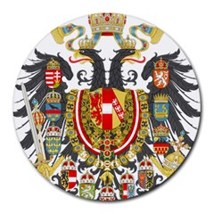 Imperial Coat Of Arms Of Austria Hungary  Round Mousepads