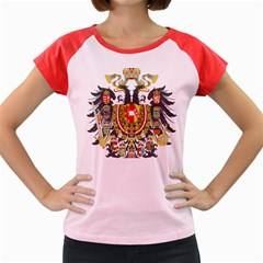 Imperial Coat Of Arms Of Austria Hungary  Women s Cap Sleeve T Shirt