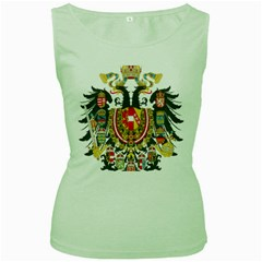 Imperial Coat Of Arms Of Austria Hungary  Women s Green Tank Top