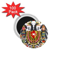 Imperial Coat Of Arms Of Austria Hungary  1 75  Magnets (100 Pack)