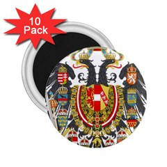 Imperial Coat Of Arms Of Austria Hungary  2 25  Magnets (10 Pack)