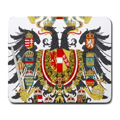 Imperial Coat Of Arms Of Austria Hungary  Large Mousepads