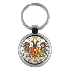 Imperial Coat Of Arms Of Austria Hungary  Key Chains (round)
