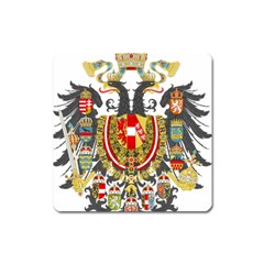 Imperial Coat Of Arms Of Austria Hungary  Square Magnet
