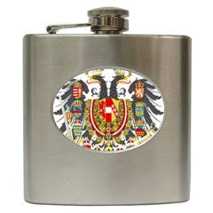 Imperial Coat Of Arms Of Austria Hungary  Hip Flask (6 Oz)