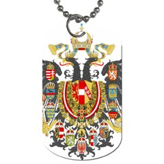 Imperial Coat Of Arms Of Austria Hungary  Dog Tag (two Sides)