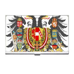Imperial Coat Of Arms Of Austria Hungary  Business Card Holders