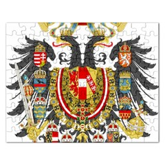 Imperial Coat Of Arms Of Austria Hungary  Rectangular Jigsaw Puzzl