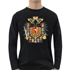 Imperial Coat Of Arms Of Austria Hungary  Long Sleeve Dark T Shirts