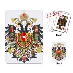 Imperial Coat Of Arms Of Austria Hungary  Playing Card