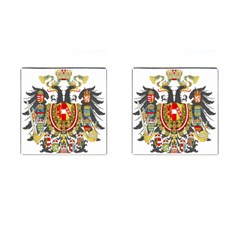 Imperial Coat Of Arms Of Austria Hungary  Cufflinks (square)