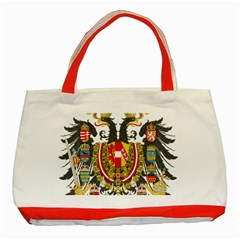 Imperial Coat Of Arms Of Austria Hungary  Classic Tote Bag (red)