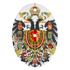Imperial Coat Of Arms Of Austria Hungary  Oval Ornament (two Sides)