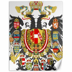 Imperial Coat Of Arms Of Austria Hungary  Canvas 12  X 16
