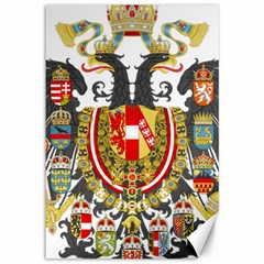 Imperial Coat Of Arms Of Austria Hungary  Canvas 12  X 18