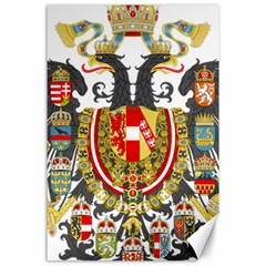 Imperial Coat Of Arms Of Austria Hungary  Canvas 24  X 36