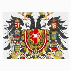 Imperial Coat Of Arms Of Austria Hungary  Large Glasses Cloth