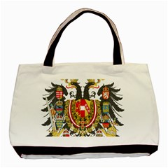 Imperial Coat Of Arms Of Austria Hungary  Basic Tote Bag (two Sides)