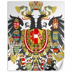 Imperial Coat Of Arms Of Austria Hungary  Canvas 11  X 14   by abbeyz71