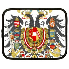 Imperial Coat Of Arms Of Austria Hungary  Netbook Case (large)