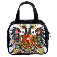 Imperial Coat Of Arms Of Austria Hungary  Classic Handbags (2 Sides)