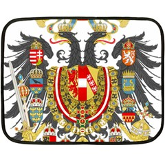 Imperial Coat Of Arms Of Austria Hungary  Double Sided Fleece Blanket (mini)