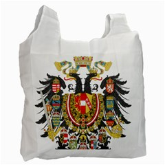 Imperial Coat Of Arms Of Austria Hungary  Recycle Bag (two Side)