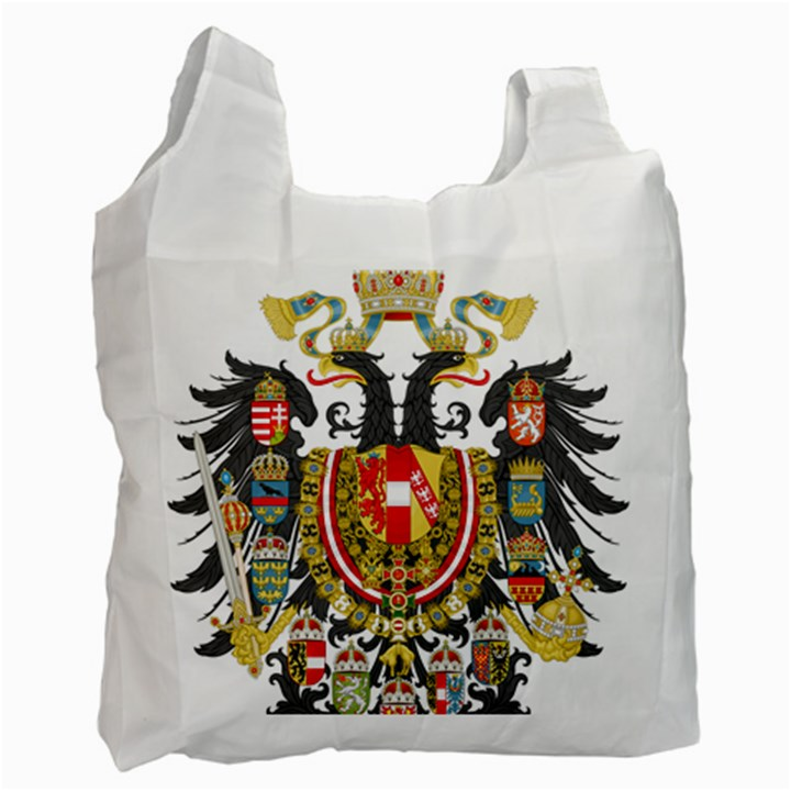 Imperial Coat of Arms of Austria-Hungary  Recycle Bag (Two Side)