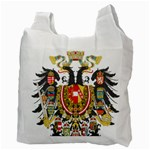 Imperial Coat of Arms of Austria-Hungary  Recycle Bag (Two Side)  Back